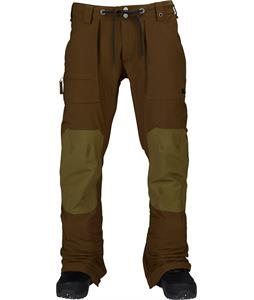 Burton Southside Slim Snowboard Pants Woody/Hickory