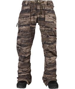 Burton Southside Slim Snowboard Pants Camo Tie Die Stripe