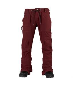Burton Southside Slim Snowboard Pants Crimson