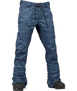 Burton Southside Slim Snowboard Pants Team Blue