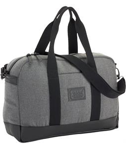Burton Stacie Laptop Duffel Bag Gray Wool Leather 10L