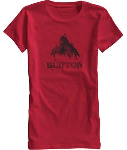 Burton Stamped Mountain Recycle T-Shirt Chili Pepper