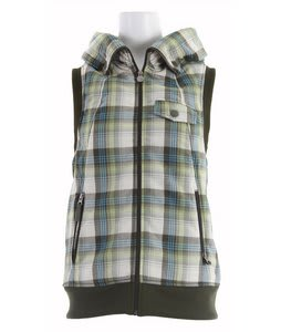 Burton Starr Vest Canvas Prismatic Plaid