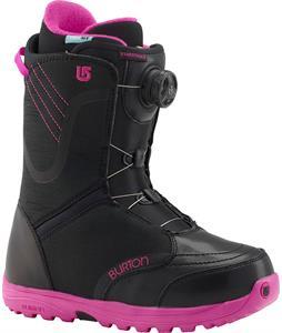 Burton Starstruck BOA Snowboard Boots Black/Pink