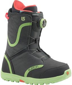 Burton Starstruck BOA Snowboard Boots Charcoal/Mint
