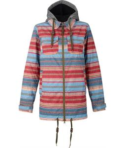 Burton Stella Shirt Snowboard Jacket Mandalay Stripe