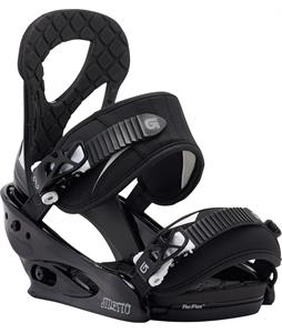 Burton Stiletto Re:Flex Snowboard Bindings Black/White