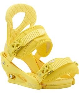Burton Stiletto Re:Flex Snowboard Bindings Yellow