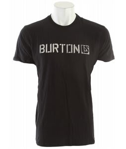 Burton Sub Zero Slim Fit T-Shirt True Black