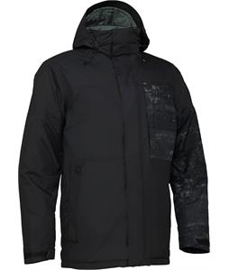 Burton Sutton Snowboard Jacket Black/Washed Out Print