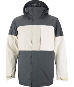 Burton Sutton Snowboard Jacket Bog/Moonrock/White