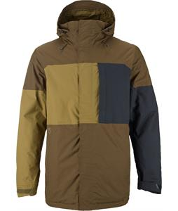 Burton Sutton Snowboard Jacket True Black/Woody/Hickory