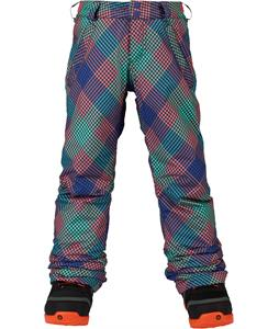 Burton Sweetart Snowboard Pants Checkers Print