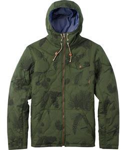 Burton Sylus Jacket Rifle Green Pine Floral Print
