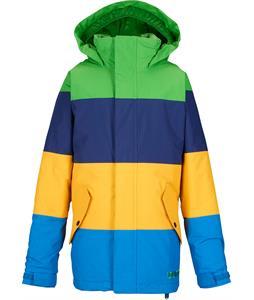 Burton Symbol Snowboard Jacket C-Prompt/Deep Sea/Yolky/Mascot