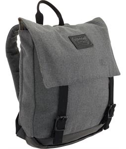 Burton Taylor Backpack Gray Wool Leather 13L