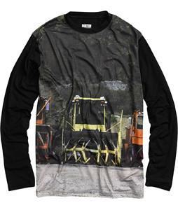 Burton Tech L/S Baselayer Top Blotto Plow