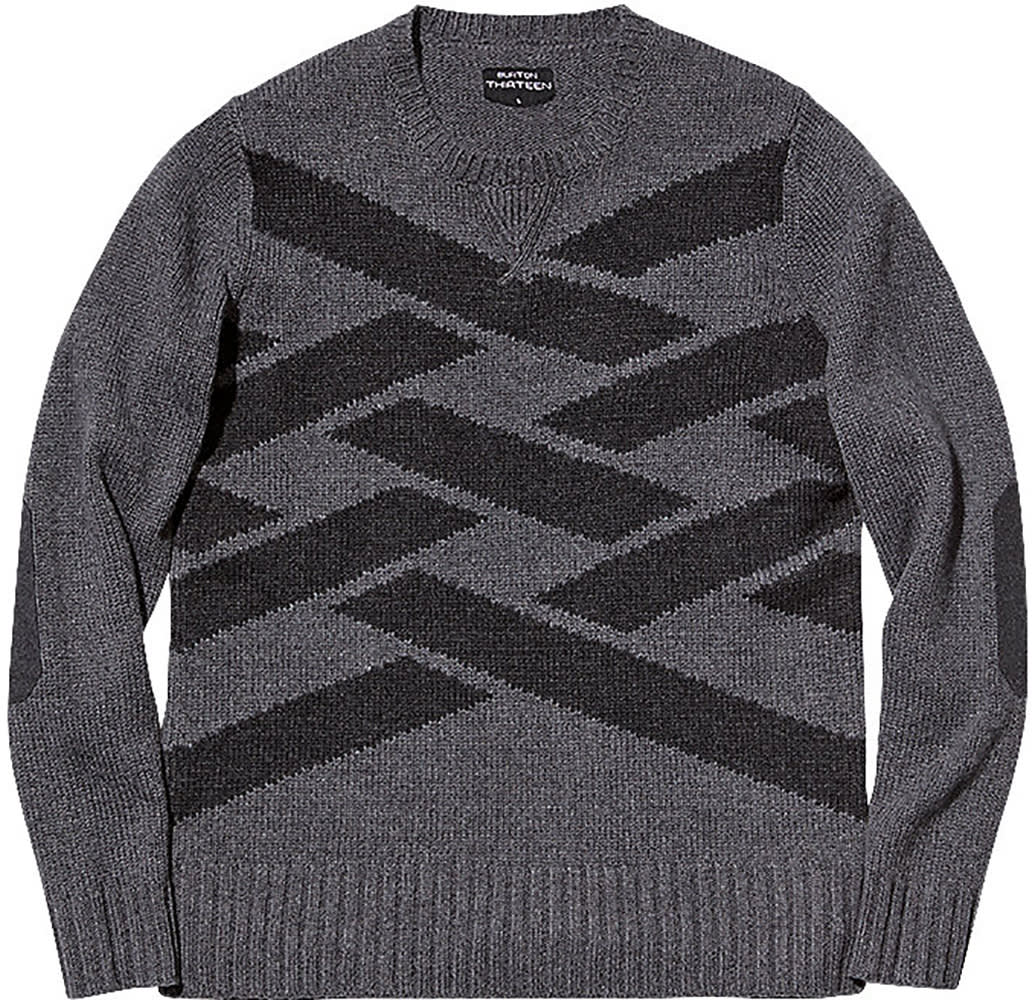 Charcoal Crew Neck Sweater