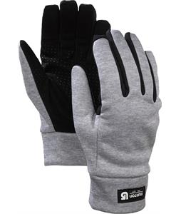 Burton Touch N Go Liner Gloves Heathered Grey