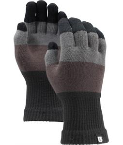 Burton Touch N Go Knit Liner Gloves 50 Shades Of Stripe
