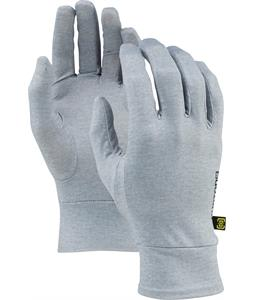 Burton Touchscreen Liner Gloves Heathered Grey
