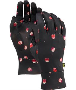 Burton Touchscreen Liner Gloves Lucky Cats