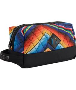 Burton Tour Kit Travel Bag Fish Blanket Print 10 x 4.5 x 7.75in