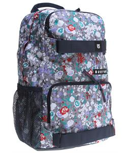 Burton Treble Yell Backpack Floral Chambray 21L