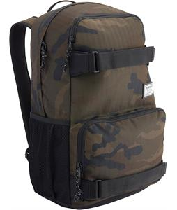 Burton Treble Yell Backpack Lowland Camo Herringbone 21L