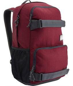 Burton Treble Yell Backpack Zinfandel Herringbone 21L