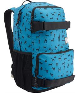 Burton Treble Yell Backpack Wallpaper Print 21L