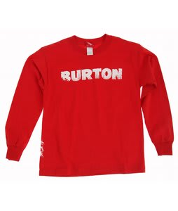 Burton T Trees L/S T-Shirt Red