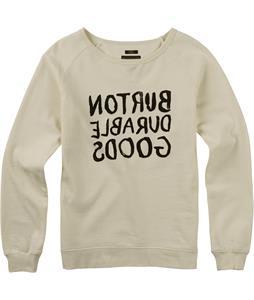 Burton Tumbledown Crew Raglan Pullover Sweatshirt