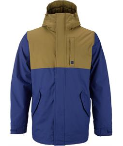 Burton TWC Greenlight Snowboard Jacket Deep Sea/Hickory