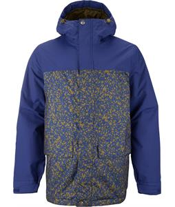 Burton TWC Headliner Snowboard Jacket Deep Sea/Hickory Notebook