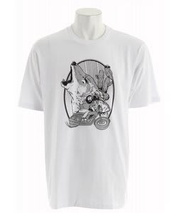 Burton TWC Howl Basic T-Shirt White