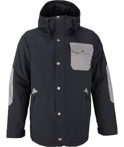 Burton TWC Primetime Snowboard Jacket True Black/Heathered Bog