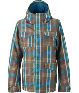Burton TWC Search And Enjoy Snowboard Jacket Hadley Plaid