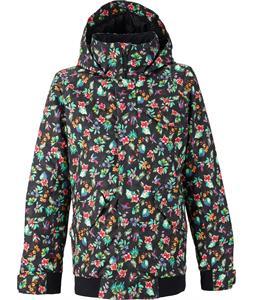 Burton TWC Sunset Snowboard Jacket Bird Floral Print