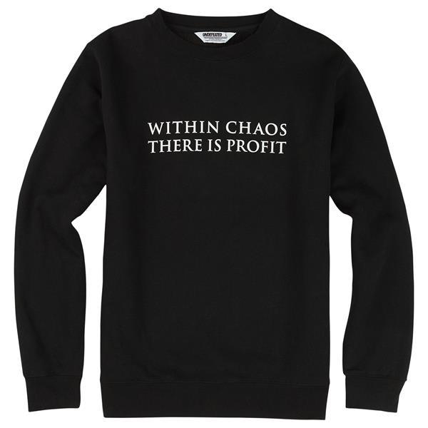 Burton Undefeated X Alpha Industries Chaos Crew Sweatshirt