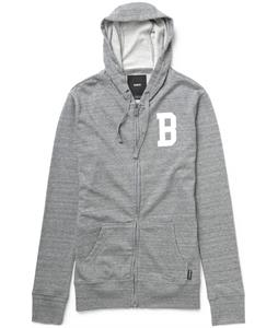 Burton Varsity Full-Zip Hoodie Heather Pewter