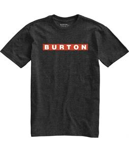 Burton Vault T-Shirt True Black Heather