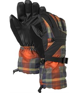 Burton Vent Gloves Clockwork Tartlet Plaid