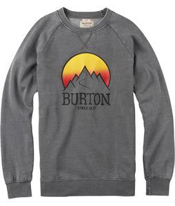 Burton Vista Crew Sweatshirt Dark Ash