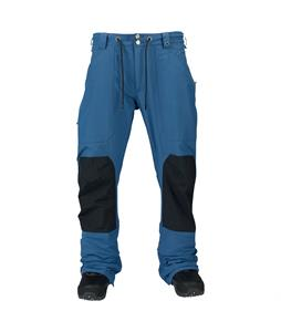 Burton Walden Gore-Tex Snowboard Pants Team Blue Colorblock