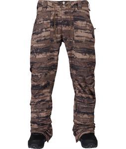 Burton Walden Snowboard Pants Camo Tie Dye Stripe