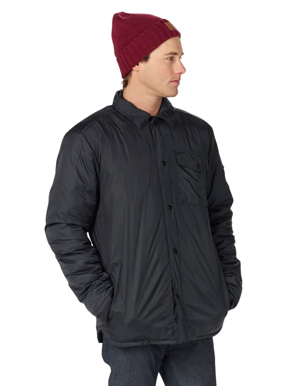 On sale burton wayland down shirt snowboard jacket 2017 for Housse snowboard burton