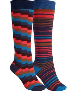 Burton Weekender Two-Pack Socks Submarine