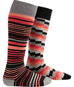 Burton Weekender Two-Pack Socks True Black