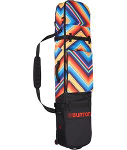 Burton Wheelie Board Case Snowboard Bag Fish Blanket Print 156cm